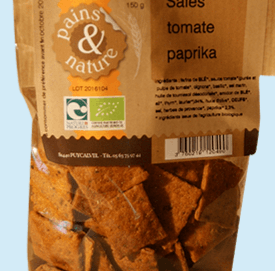 BISCUITS TOMATE PAPRIKA